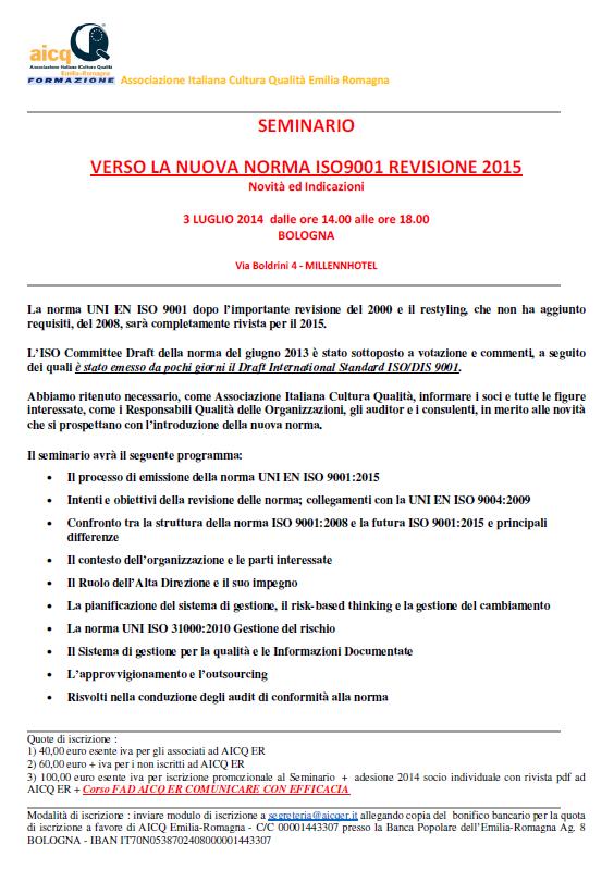 AICQER_Seminario_Nuova_ISO9001