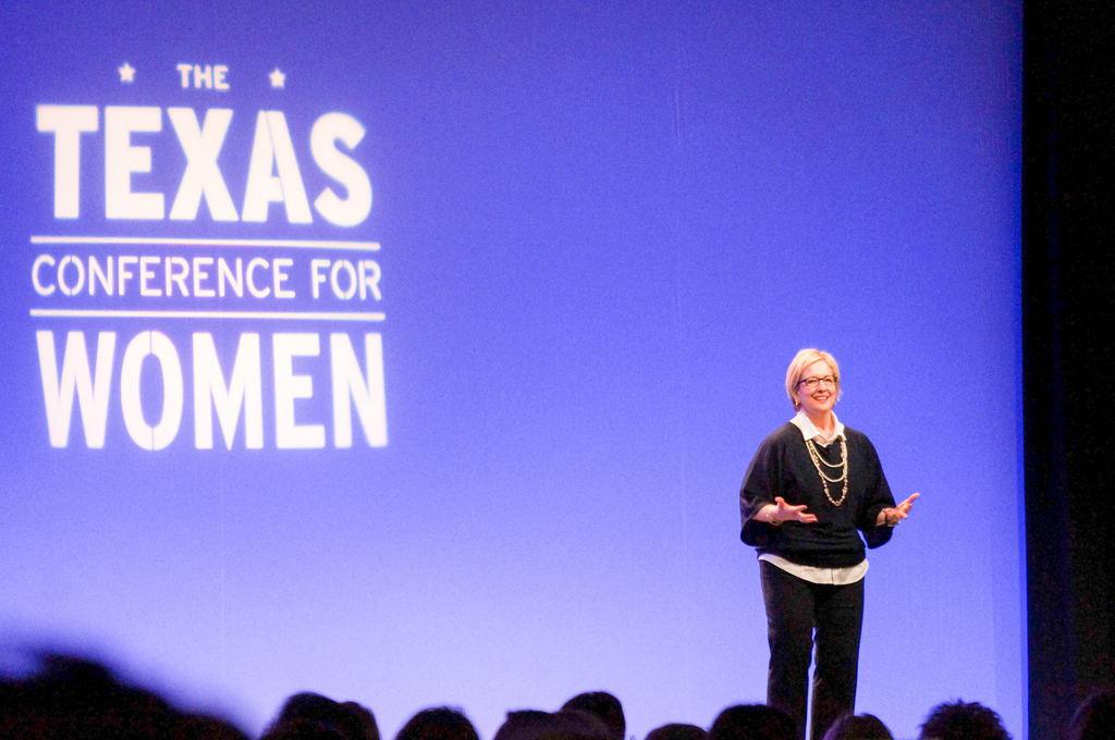 Dr. Brene Brown @ Texas Conference for Women - Oct. 24, 2012, Austin