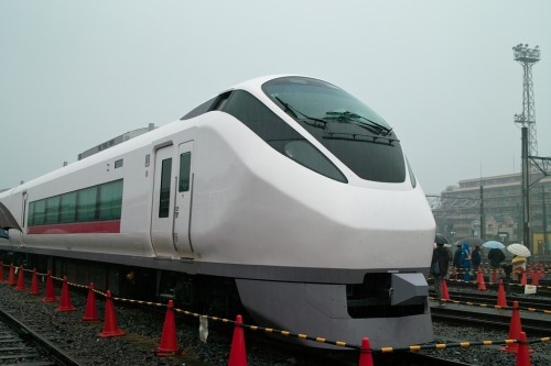 "E657 Series - New Limited Express ""Hitachi"" (Ogu, Tokyo, Japan)"