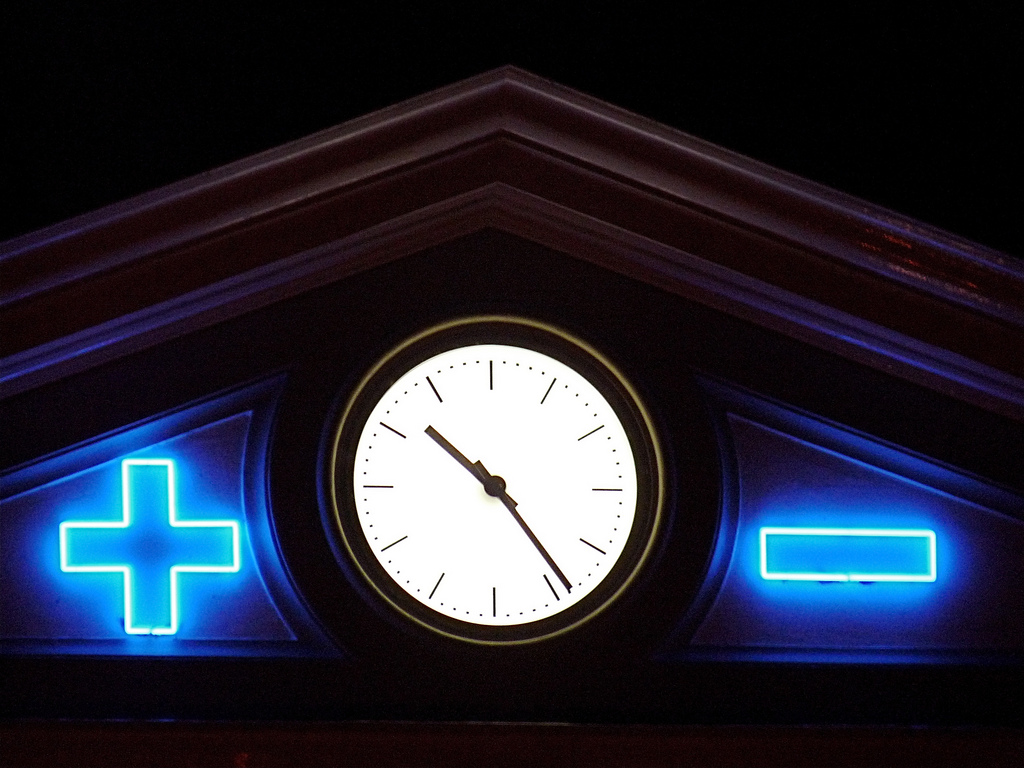 Energy Sculpture: Sation Clock of the Zwolle Central Station in the Netherlands