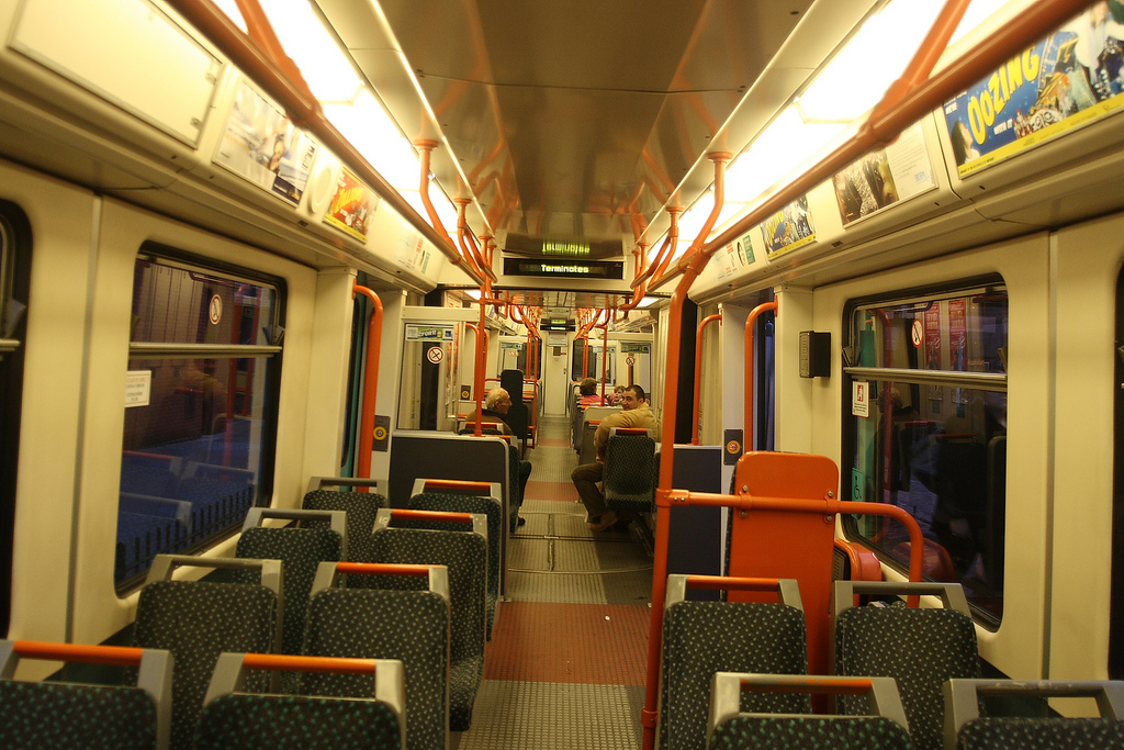 Manchester Metrolink Interior