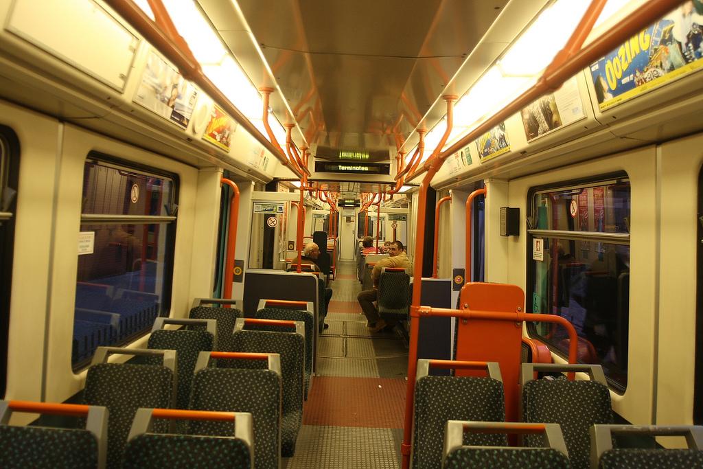 Manchester Metrolink Interior