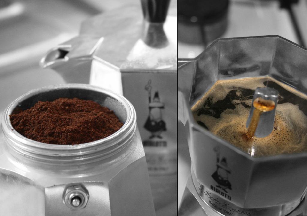 Moka Express - Espresso Coffee Diptych