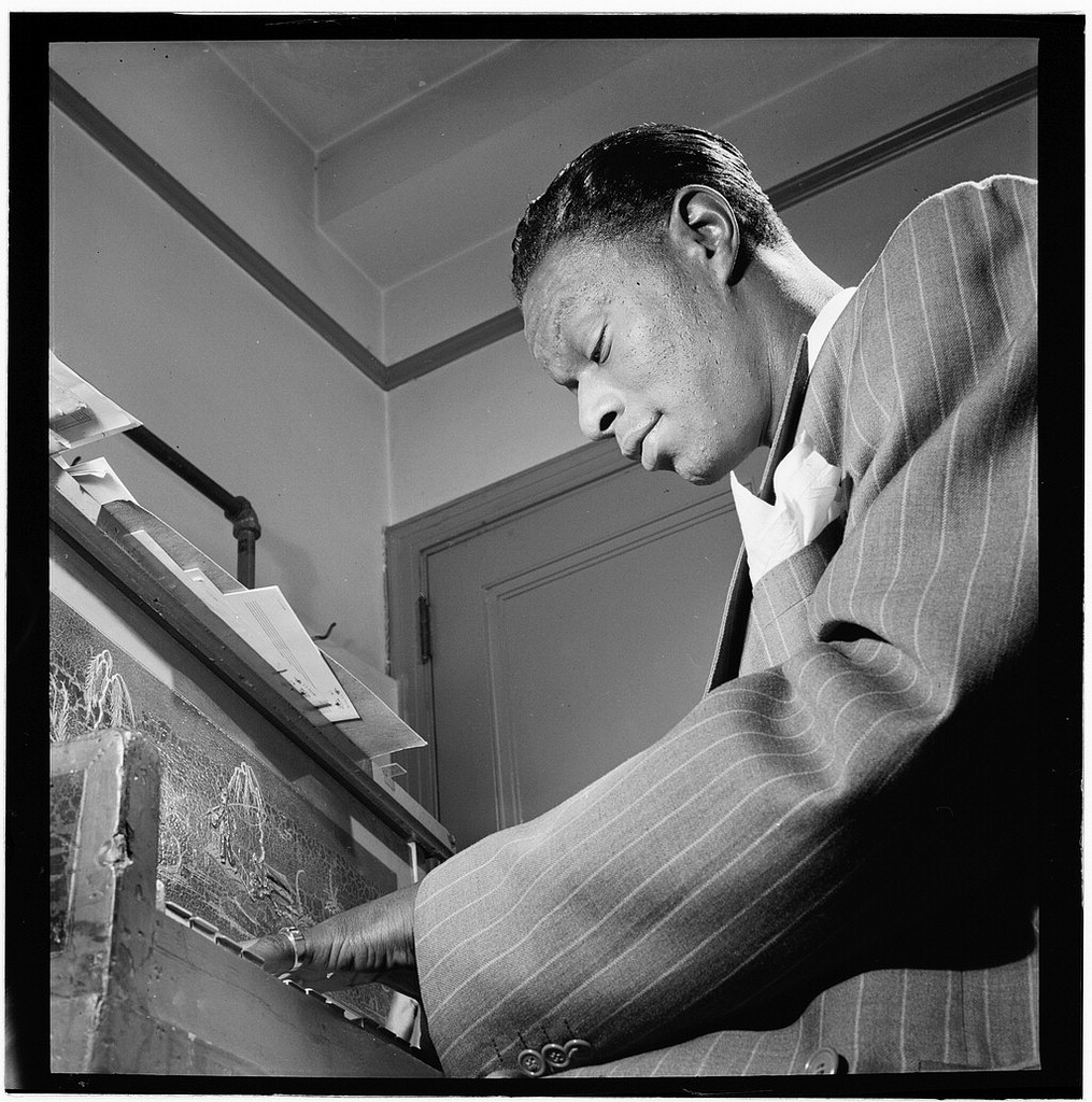 [Portrait of Nat King Cole, New York, N.Y., ca. June 1947] (LOC)
