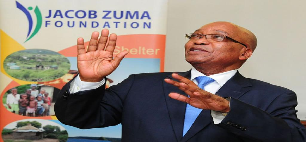 President Jacob Zuma bids farewell to Jacob G Zuma Foundation students, 29 Jan 2013