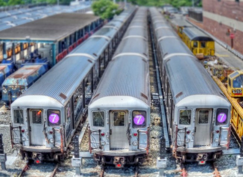 Railyard for NYC #7 subway line