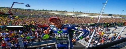 Vale3ntino Rossi nella storia, vittoria a Misano: per il Sic e milioni di fans
