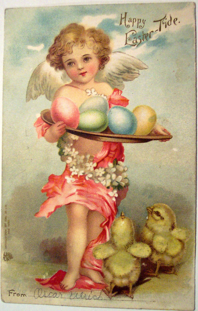 Vintage Easter Postcard