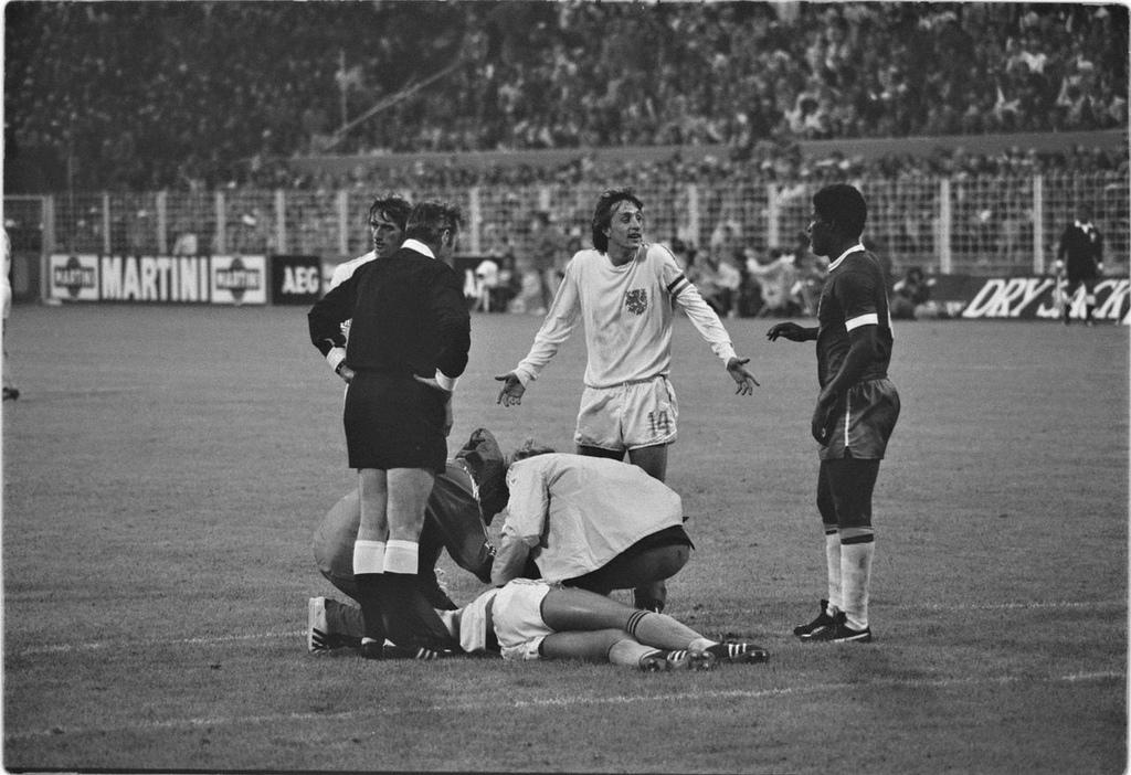 WK 1974, Nederland-Brazilië
